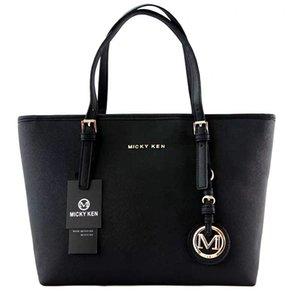MICKY KEN saco senhoras marca simples bolsa de moda cruz padrão de couro PU saco de compras saco grande ombro