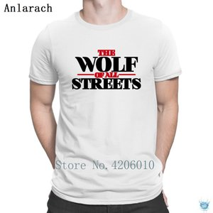 The Wolf Of All Streets T-Shirts Stylish HipHop Tops Summer T Shirt For Men Hot Sale Character New Arrival Anlarach Size S-3xl