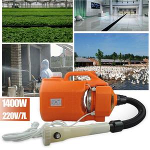 1400W 7L Portable électrique ULV Pulvérisateur machine machine de désinfection pour les hôpitaux Accueil Intelligent Ultra Capacité de pulvérisation brumisateur