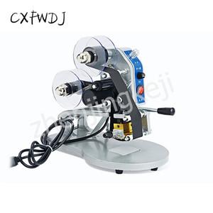 CXFWDJ ленты кодирования машины Ручная производства Дата Принтер штемпелюя Прямая термопечать Code Reader Coding