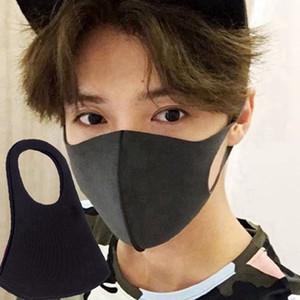 Anti-Staub-Gesichtsmaske Mundschutz PM2.5 Anti-Staub-Mund-Maske Respirator Staubdichtes Antibakteriell Waschbar wiederverwendbare Sponge Gesichtsmasken 200pcs