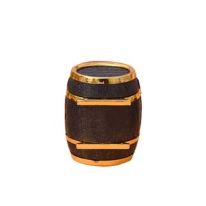 Proposal Earrings Ring Box Portable Holder Beer Bucket Case Wedding Velvet Storage Engagement Gift Fashion Jewelry Display