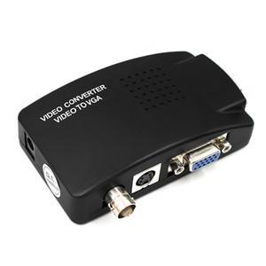 Переключатель Box BNC для VGA конвертер Composite SVIDEO к VGA видео конвертер VGA Out адаптер Digital для PC MACTV камеры DVD DVR