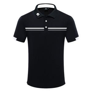 Erkekler Yeni Golf Anti-Pilling Kısa kollu Golf Tişört Ücretsiz nakliye İlkbahar yaz kısa kollu DESCENTE spor Gömlek giysi