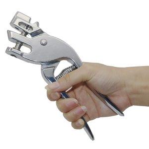 1pc 8mm / 9 milímetros Orelha de animal Etiquetas Puncher Alicate Gado Ovelha Pig Cavalo inoxidável Equipment Identification Aço furador animal