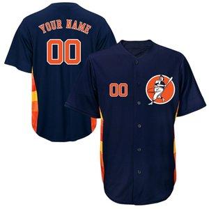 Özel Erkek Beyzbol Formalar Herhangi Adı Herhangi Bir Numara Dikişli Nakış Kişiselleştirilmiş Gömlek Özelleştirilmiş Ucuz Online Mağaza B016