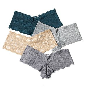 8 Stück Lace Sexy Briefs Pralle Shorts Teenage Boxer Kinder Trunk Kind Höschen Reine Dame Hosen-Kind-Unterwäsche Frauen Geschenk Kleidung
