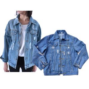 Designer Basic Coat Denim Jackets Womens Winter Denim Jacket For Women Jeans Jacket Women Denim CoatS Lady Loose Fit Casual Style