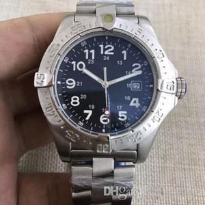 Роскошные высокого качества Часы Конструктор Мужчины из нержавеющей стали часы желтый Мстители Sea Wolf автоматические механические часы мужские часы платье