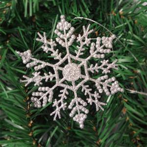 Floco De Neve de natal Floco De Neve Delicado Decoração Do Floco De Neve para a Loja de Moda Em Casa Decoração Da Parede Da Árvore de Natal Suprimentos 10 CM