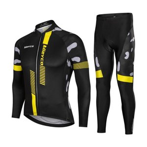 Manches longues Maillot cyclisme Set montagne de cyclisme sur route Costume Outdoor Racing Bike Sweat Pantalon de sport Maillot Ropa