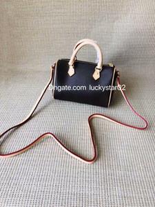 Vente en gros Mini classique rétro oreiller sac en cuir couleur changeante Boston une épaule Sac à bandoulière Bucket Mini horizontal sac à main femmes Sac