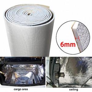 6 millimetri 236mil spessa lamina di alluminio + silenziatore Cotton auto al coperto suono termico fonoassorbente isolamento acustico Dampening Mat xuOq #