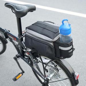 6L велосипед мешок Многофункциональный MTB велосипед дорожный велосипед сзади стойки Tail сиденья Паньер водонепроницаемый сумка с двойной молнией Head