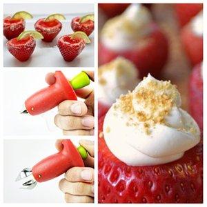 Fragola defittonatrici Stem Huller Remover Pomodori Gambi Staminali Remover fragola Feeder frutta Utensili da cucina vegetale T2I5190