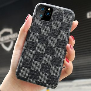 cas de design de luxe de téléphone pour iPhone 11 Pro Max 12 en cuir PU mode Téléphone Retour pour iPhone XS MAX XR X 7 8 Plus cas