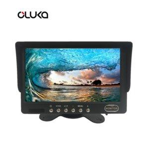 7 polegadas AHD Rear View Monitor com 2 maneiras de entrada de vídeo / Suporte reversão Imagem carro espelho de Transição