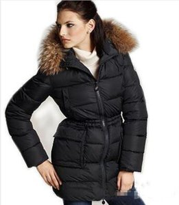 Classic France Brand Women Winter Jackets M Brand Anorak Long Down Jacket Womens Warm Down Long Coats Thickening Female Clothes Parka