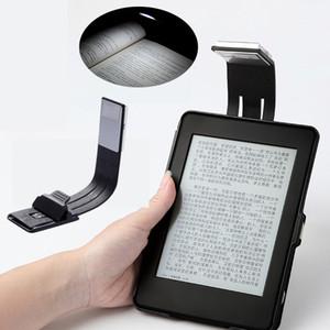E-book ricaricabile a LED per carta Kindle Lampada da lettura a LED Power Bank a 4 luci Illuminazione a luce flessibile per libri elettronici