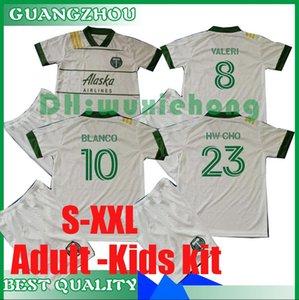 2020 2021 MLS Adult and Kids kit Portland Timbers soccer jerseys 20 21 MLS VALERI BLANCO CHARA VALENTIN VALERI kids kit football Shirts