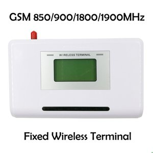 GSM 850 900 1800 1900MHZ Fixed wireless terminal with LCD display, support alarm system, PABX, clear voice, stable signal