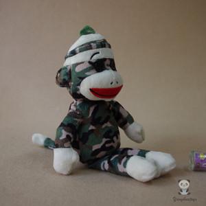 박제 된 동물 가와이이 아기 장난감 위장 양말 원숭이 인형 봉제 완구 어린이 선물