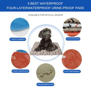 Waterproof Bed Pet Pee Pads Dog Mat Para Puppy Dog Pee Pad Urina Pads reutilizável Pet Diaper Urina Mantenha Mat Quente