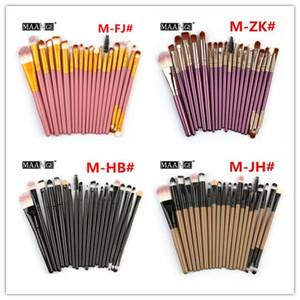 Make Up Brushes set 20 pcs MAANGE Powder Foundation Concealer Blush Eyeshadow Lip Brush Makeup Brushes Kit Beauty Tools
