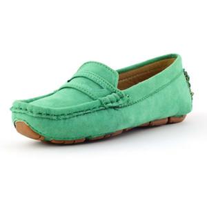 키즈 신발 10 대 소년 로퍼 신발 옥스포드 어린이 운동화를위한 소녀 보우 플랫 10 대 유아 모카신 베이비 캐주얼 신발