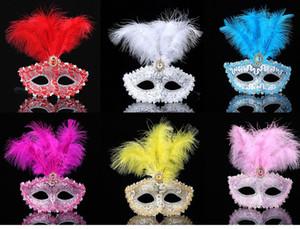 Mascarade Masques Womens Masques de Venise Dentelle Boule de fleurs de bal Mardi Gras Halloween Masques taille unique adulte