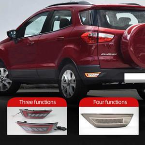 Для Ford Escape Kuga 2013 2014 2015 2016 2017 2018 Свет автомобиля Задний бампер рефлекторные фары Задний противотуманный фонарь в сборе