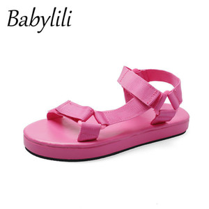 Women Sandals Flat Casual Shoes Woman Summer Candy Colors Beach Outside Sport Sandals Sandalias Bajas Mujer 2020 Slides