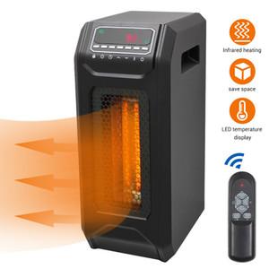 1500W Infrared Space Heater quarzo caldo portatile Free Standing infrarosso riscaldatore elettrico di controllo remoto con modalità di risparmio energetico
