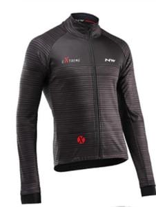 2020 Shirt New Northwave Jersey Ciclismo manga comprida Ropa Ciclismo Equipe Outono Roupa da bicicleta Maillot MTB Roupa Jacke NW