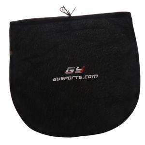 Portable Dustproof Ice Hockey Helmet Bag Mask Visor Shield Storage Bag Equipment Bag Black