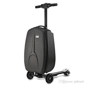 IUBEST IU - DX01 a 3 ruote elettrico del motorino valigia con telaio in poliestere bagagli in lega di alluminio