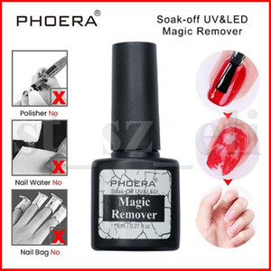 PHOERA UV Gel Burst Magic Remover Nagellack Nail Art Primer Acryl Clean Entfetter für Lack 8ML