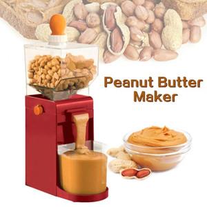 -Frito de mantequilla de maní máquina amoladora eléctrica del hogar Grinder mantequilla de cacahuete café Rectificadora de herramientas de cocina