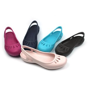 Women Fashion Summer Sandals Light Beach Sandals Candy-colored Cut-out Breathable Summer Shoes Size W5~W9