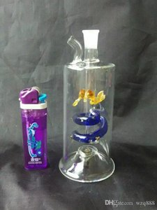 The new dragon hookah Wholesale Glass bongs Oil Burner Glass Water Pipes Oil Rigs Smoking Free