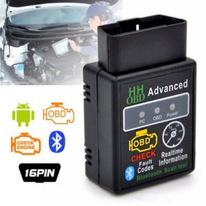 Мини ELM327 версии v2.1 Bluetooth с чч БД предварительный OBDII OBD2 диагностический интерфейс ELM327 авто диагностический сканер код читателя анализаторы диагностическому прибору горячей продажи