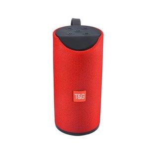 المتحدثون حار بيع اللاسلكي TG113 بلوتوث المحمولة مكبر للصوت يدوي نداء ستيريو باس الدعم TF بطاقة TG113