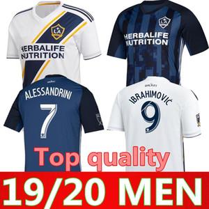 MLS FC Los Angeles Galaxy Jersey La Futbol 9 Zlatan Ibrahimovic 8 Jonathan Dos Santos 10 Dos Santos 10 Giovani Futbol Gömlek Kitleri