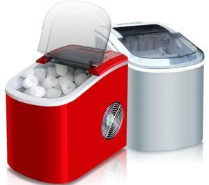 Mini cubetto di ghiaccio elettrico automatico della macchina per fabbricare il ghiaccio del blocco rotondo portatile che fa macchina piccola caffetteria di bar 15kgs / 24H EU LLFA
