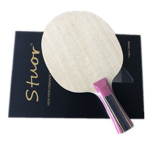 Stuor 5 layers wood with 2 layers super zl carbon fiber table tennis racket only blade for ping pong FL CS ST grip T200410
