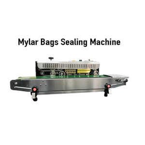 Automatic Smell Proof Mylar Packaging Bags Sealing Machine Multi Function Easy to Use Efficient For Cookies runtz smell proof Package Bag