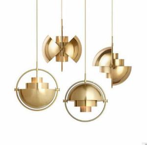 Designer Post-Modern Bar Подвеска Легкая Ресторан Изучение Спальня Прицела Креативная Личность Полукруточная подвесная лампа