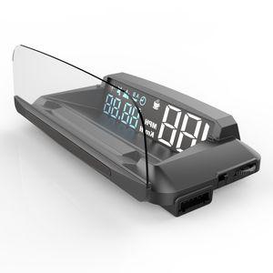 Testi Fren Testi Aşırı hız Alarm TFT LCD Ekran yukarı Speed ile Universal Araç HUD head up ekranı Dijital OBDII GPS Kilometre