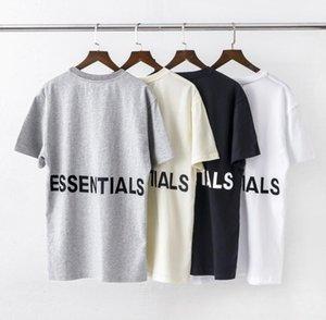 مصمم رجالي قميص تي شيرت الهيب هوب الضباب مزدوجة المسار قاعدة أساسيات مطبوعة بحروف التي شيرت قصير الأكمام أزياء آسيا الحجم