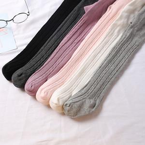 6 Stiller Bebek Tozluklar Çocuk Pamuk Külotlu Kız Moda Tayt Bebek Sonbahar çorap Bahar Prenses Pantolon Külotlu çorap Pant Çorap M362